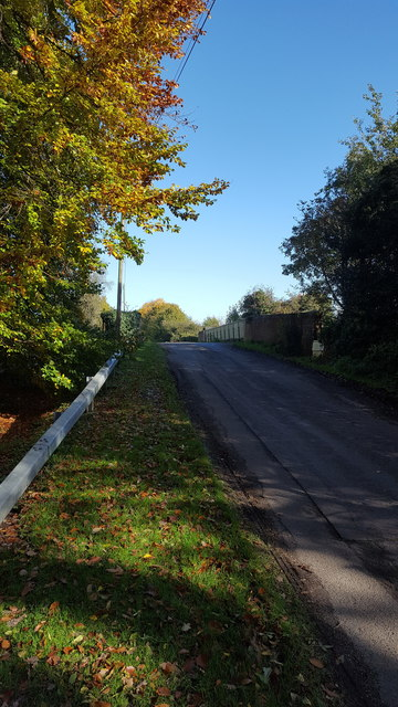 Butt Lane over the railway