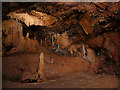 SX9364 : Rock formations, Kents Cavern by Stephen Craven