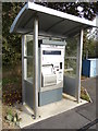 TL7720 : Cressing Railway Station Ticket Machine by Adrian Cable