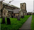 SH7877 : St Mary & All Saints Church, Conwy by Jaggery
