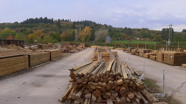Forest Products timber yard