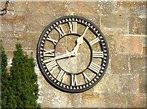 TQ7035 : Christ Church Clock in Kilndown, Kent by John P Reeves