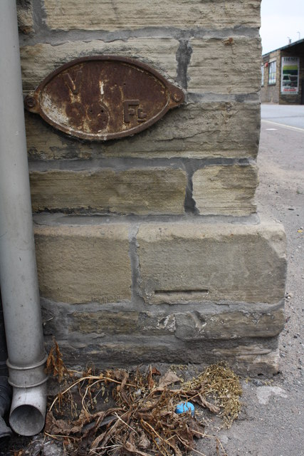Benchmark on #64 Wakefield Road