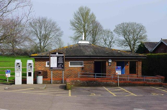Public toilets, Lucknow Place Car Park, Fishmarket Road, Rye, East Sussex