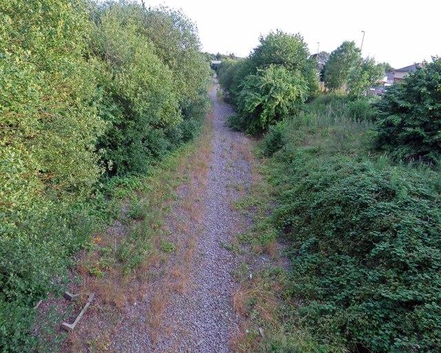 Former railway southwards