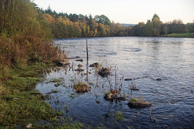 River Beauly downstream of Black Bridge