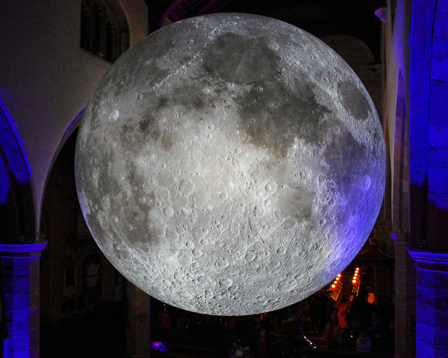 Museum of the Moon, Lancaster Priory