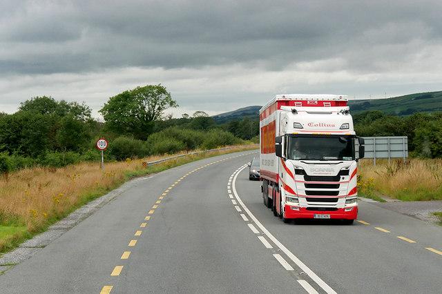 Heavy Goods on the Castleisland Bypass