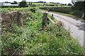 SE3996 : Hallikeld Bridge taking Long Lane over Winton Beck by Luke Shaw