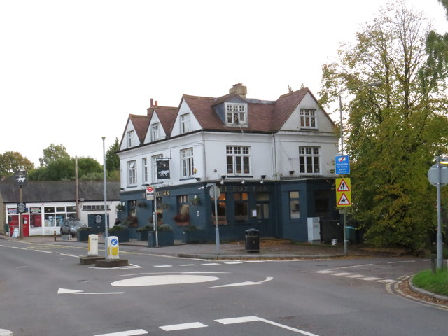 The Fox pub, Keston