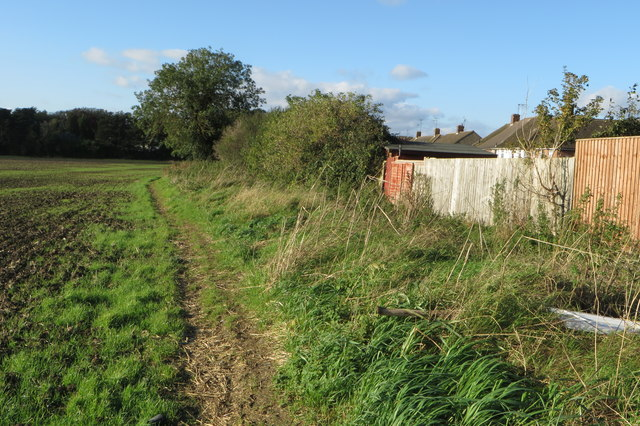 Bridleway to Knuston