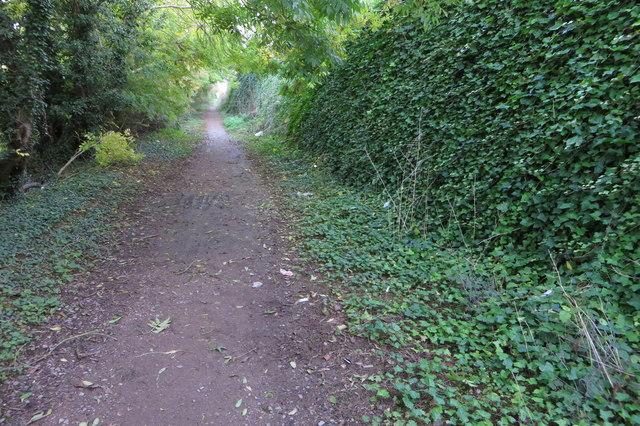 Footpath into Rushden