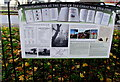 SO7708 : Historical information board near Whitminster War Memorial by Jaggery
