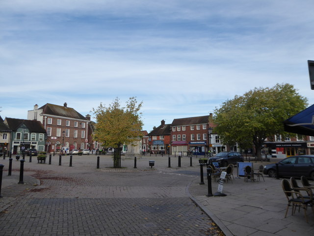 The Square, Petersfield: autumn 2019
