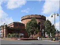 NY4055 : The Citadel, Carlisle by Bill Harrison