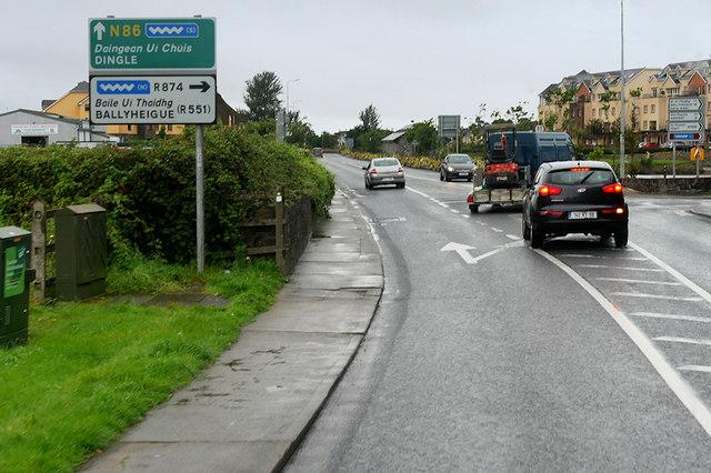 Tralee, Canal Road (N86)