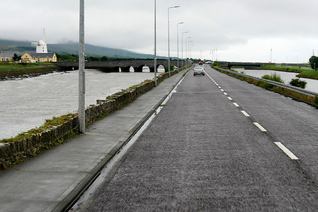 Canal Road and Blennerville Bridge