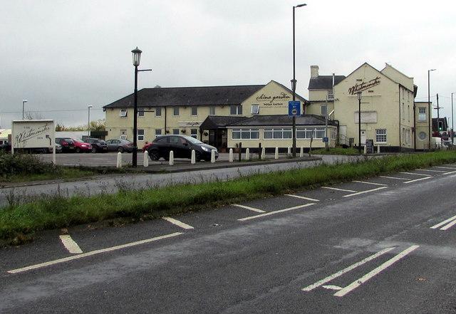 North side of the Whitminster Inn, Whitminster