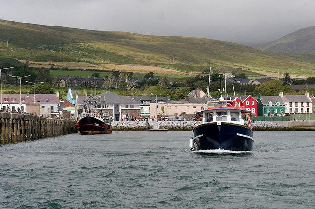 Dolphin-seekers Leaving Dingle Pier