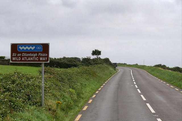The Wild Atlantic Way near Dingle