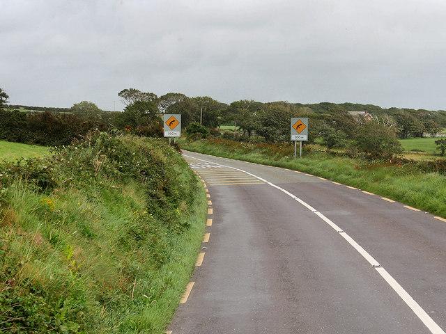 Eastbound N86 near Dingle