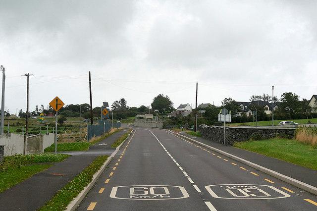 N86 Eastbound near Lispole
