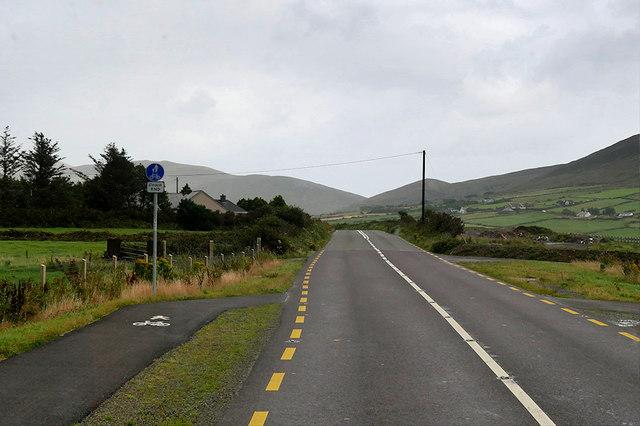 End of Cyclepath and Walkway