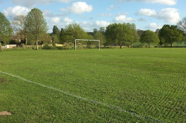 Football pitch, North Coker