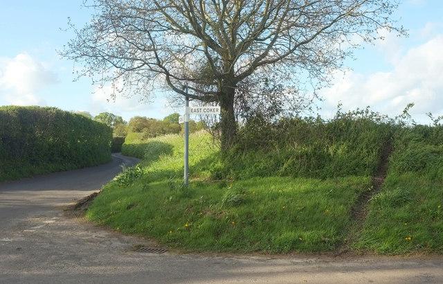 Crossroads near Burton