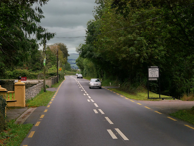 N23 passing Cloghan Lodge