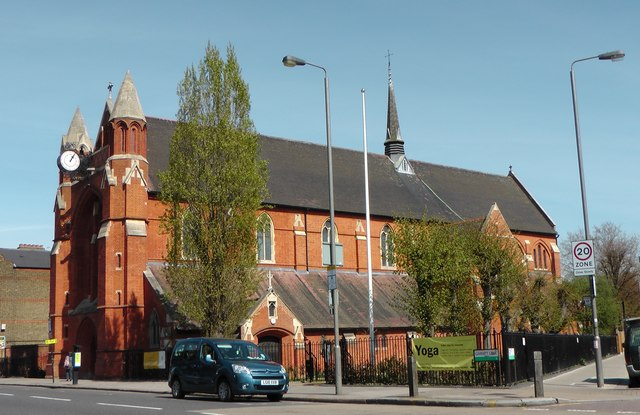 St Andrew's Church in Earlsfield, Greater London