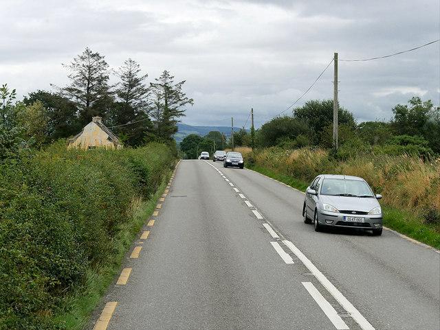 N23 Northbound towards Castleisland