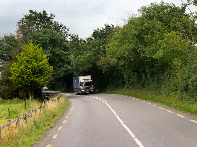Goods Vehicle Travelling South on the N26