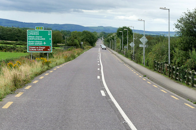 N23 north of Farranfore
