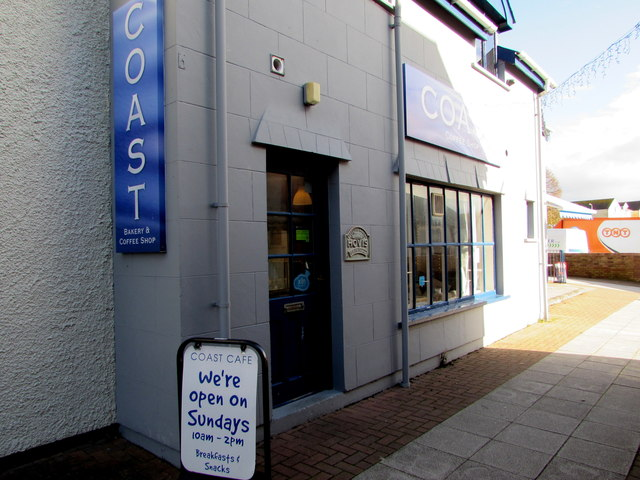 We're open on Sundays 10am-2pm, Coast bakery & coffee shop, Llantwit Major