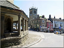NZ0516 : Market Place, Barnard Castle by Andrew Curtis