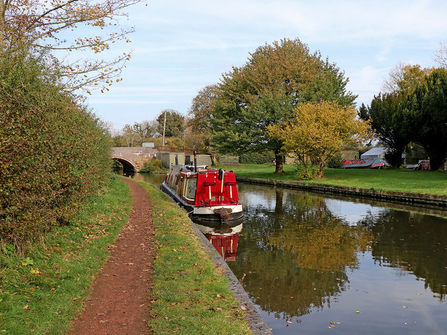 Canal near Lower Penn in Staffordshire