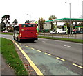 ST3091 : Stagecoach bus on route 23 to Pontypool, Malpas Road, Newport by Jaggery