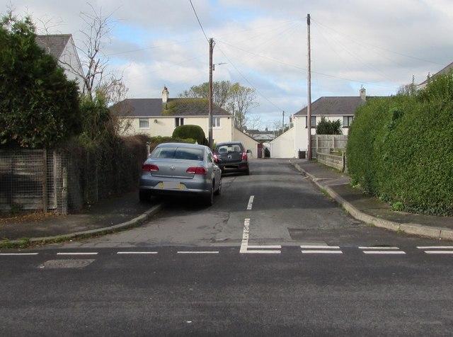 West side of Baron's Close, Llantwit Major