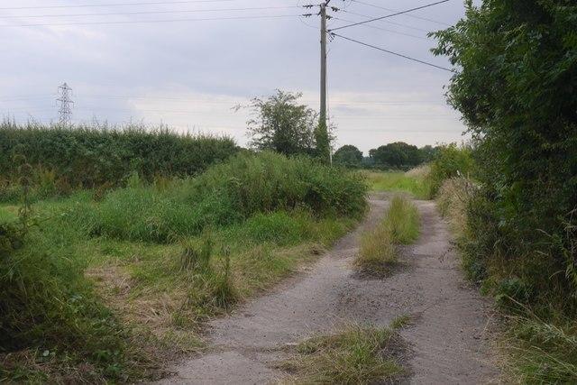 Field access road