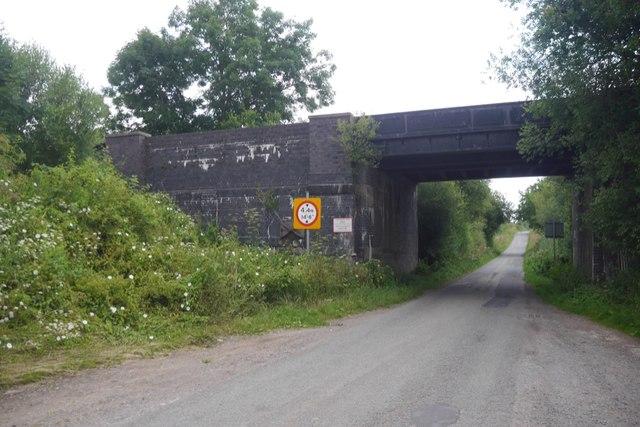 Railway bridge, Whatcroft Lane