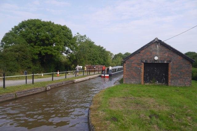 Shropshire Union Canal, Barbridge