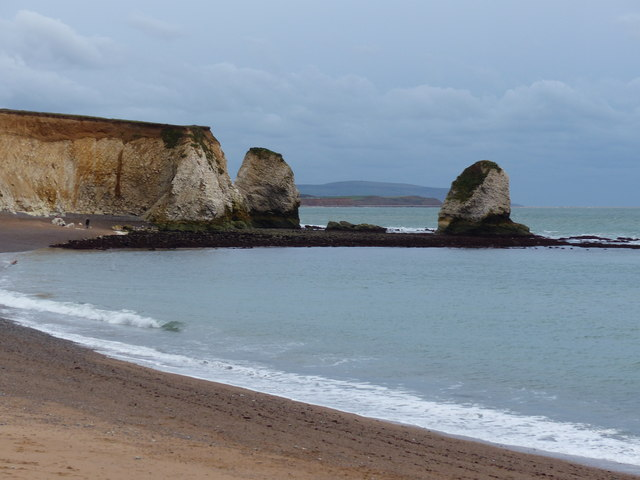 View across Freshwater Bay, Isle of Wight