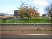 J0509 : The smaller of the two mortuary chapels at Dowdallshill Cemetery, Dundalk by Eric Jones