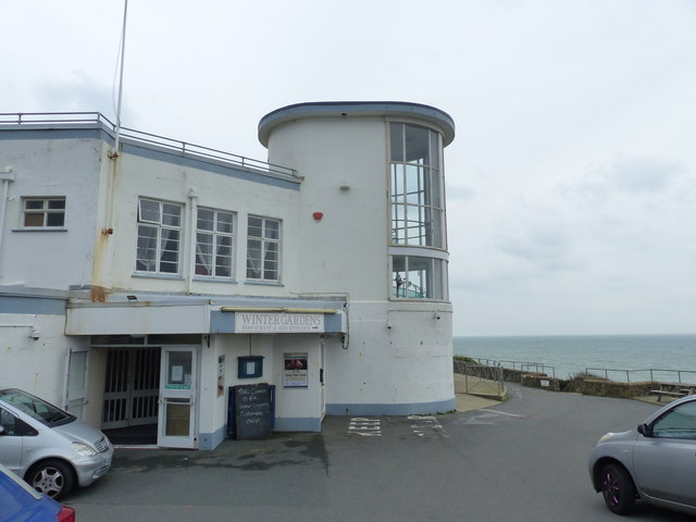 The 1930s vintage Winter Gardens, Ventnor, Isle of Wight