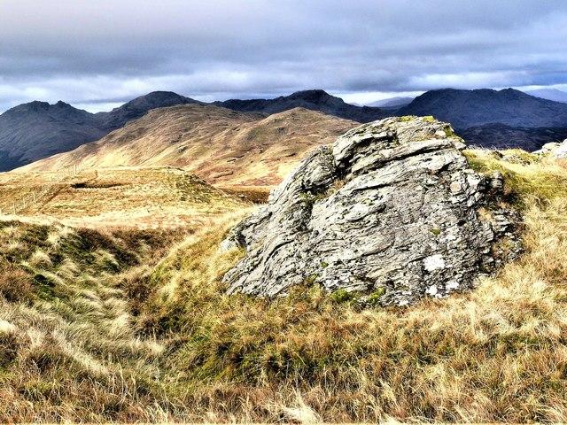 Beinn Bhreac - North Ridge