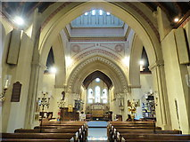 SZ5193 : Whiuppingham church interior, Isle of Wight by Ruth Sharville