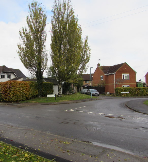 Junction of School Lane and The Close, Whitminster