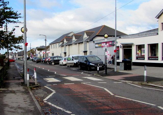 Zebra crossing, Boverton Road, Llantwit Major