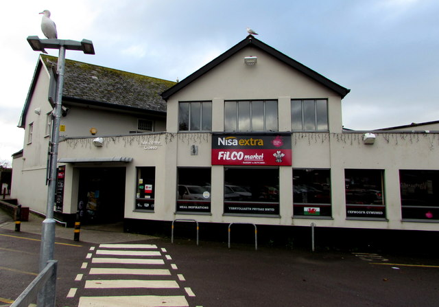 Main entrance to Nisa Extra/Filco Market, Llantwit Major